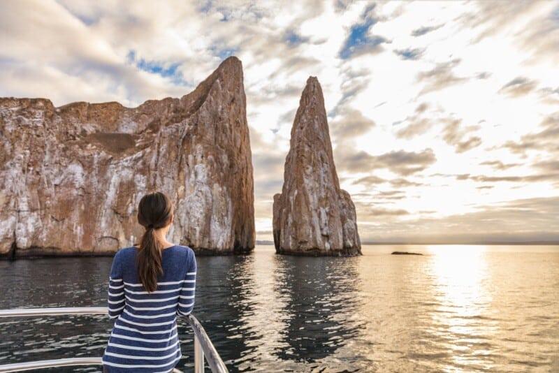 Viaggio alle isole Galapagos - cosa vedere, cosa fare, la guida 2021 Kicker rock