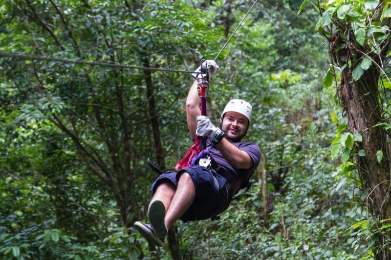 Costa Rica, itinerario di 2 settimane: cosa vedere, cosa fare- zip line Monteverde